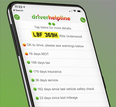 Never miss your MOT, tax or insurance date again!